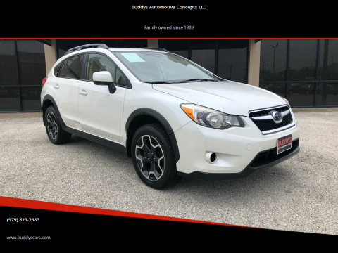 2014 Subaru XV Crosstrek for sale at Buddys Automotive Concepts LLC in Bryan TX