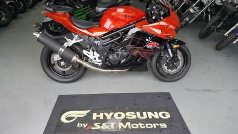 2011 Hyosung GT650/R