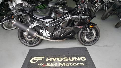 2013 Hyosung GT650/R