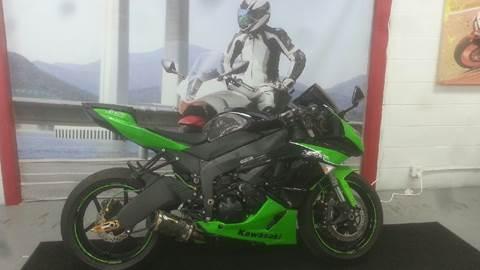 2011 Kawasaki Ninja ZX-6R for sale in Virginia Beach, VA