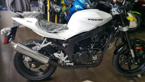 2013 Hyosung GT250