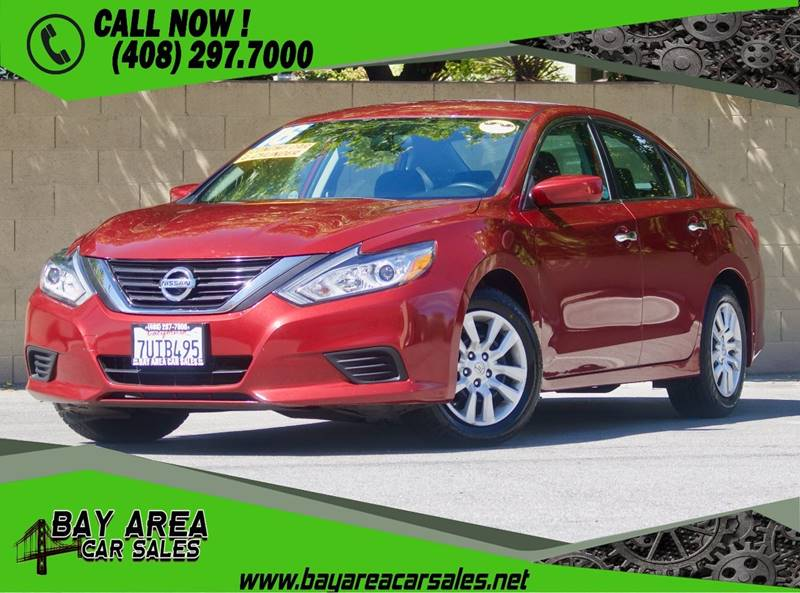 2016 Nissan Altima For Sale At BAY AREA CAR SALES In San Jose CA