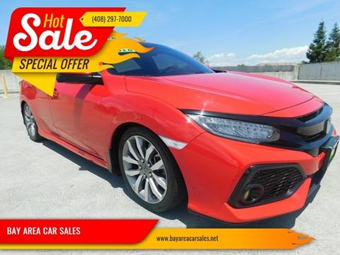 San Jose Honda >> 2017 Honda Civic For Sale In San Jose Ca