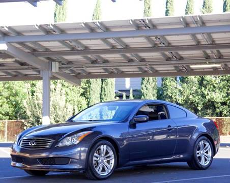 2010 Infiniti G37 Coupe for sale at BAY AREA CAR SALES in San Jose CA