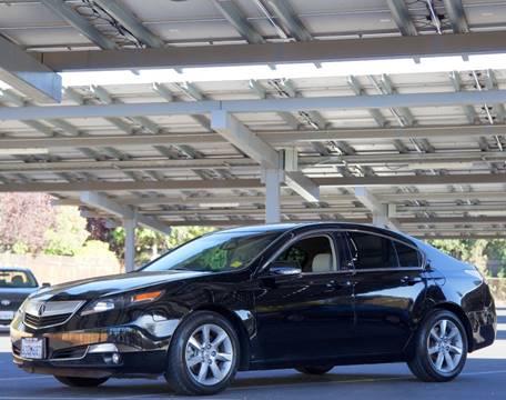 2012 Acura TL for sale at BAY AREA CAR SALES in San Jose CA