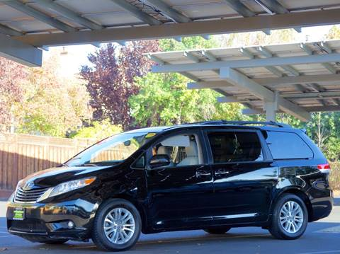 2012 Toyota Sienna for sale at BAY AREA CAR SALES in San Jose CA