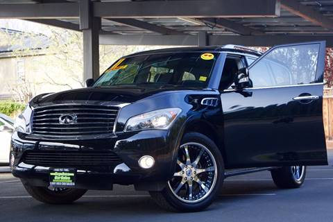 2011 Infiniti QX56 for sale at BAY AREA CAR SALES in San Jose CA