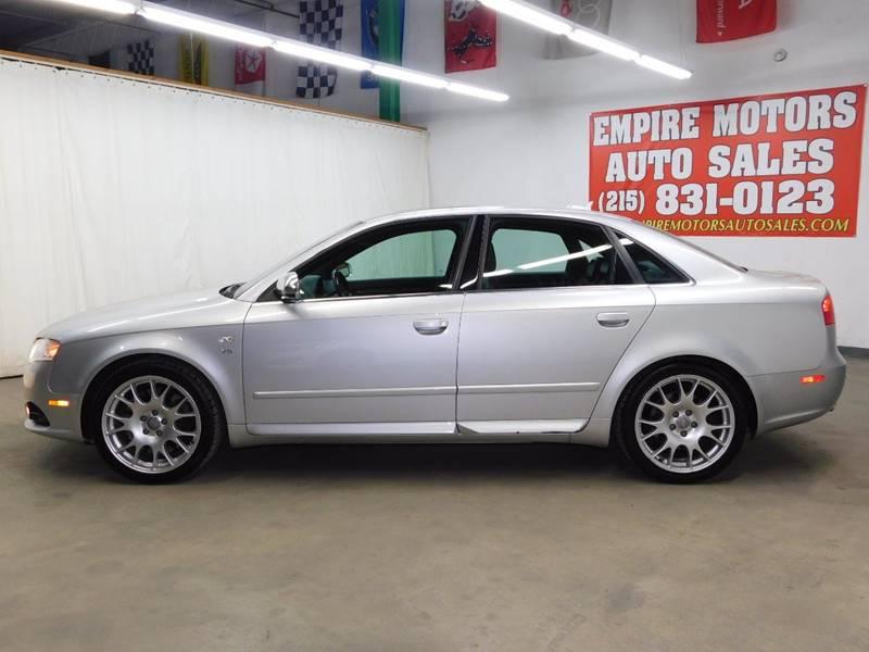 2006 Audi S4 AWD quattro 4dr Sedan (4.2L V8 6A) - Philadelphia PA