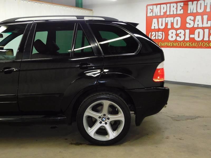 2001 BMW X5 AWD 4.4i 4dr SUV - Philadelphia PA