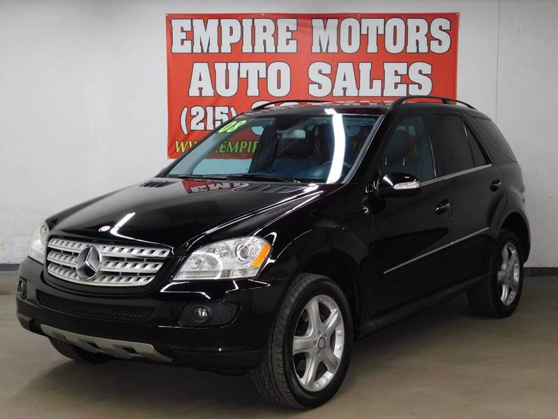 2008 Mercedes Benz M Class For Sale At EMPIRE MOTORS AUTO SALES In  Philadelphia