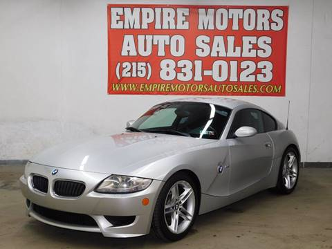 2007 BMW Z4 M for sale at EMPIRE MOTORS AUTO SALES in Philadelphia PA