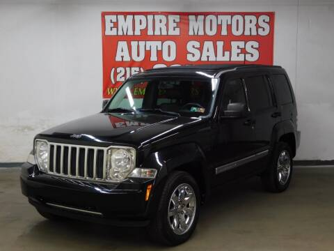 2010 Jeep Liberty for sale at EMPIRE MOTORS AUTO SALES in Philadelphia PA