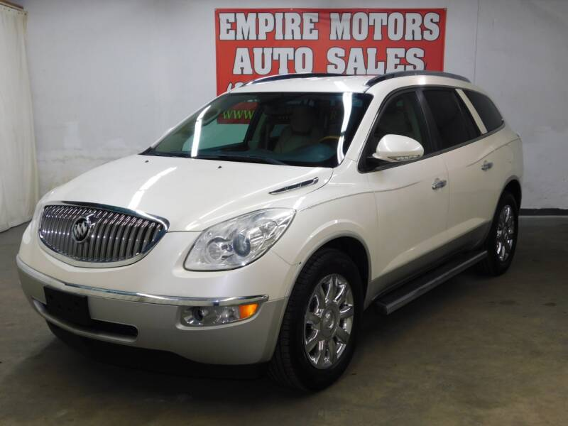 2012 Buick Enclave for sale at EMPIRE MOTORS AUTO SALES in Philadelphia PA