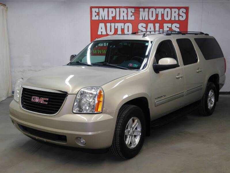 2011 GMC Yukon XL for sale at EMPIRE MOTORS AUTO SALES in Philadelphia PA