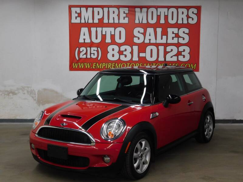 2009 MINI Cooper for sale at EMPIRE MOTORS AUTO SALES in Philadelphia PA