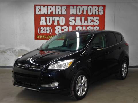 2013 Ford Escape for sale at EMPIRE MOTORS AUTO SALES in Philadelphia PA