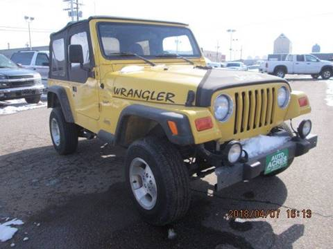 2000 jeep wrangler for sale in billings mt. Black Bedroom Furniture Sets. Home Design Ideas