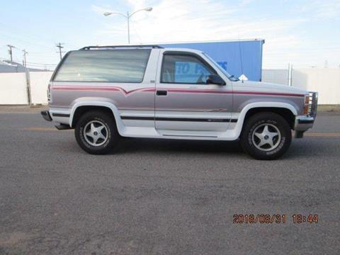 1993 Chevrolet Blazer For Sale Carsforsale Com