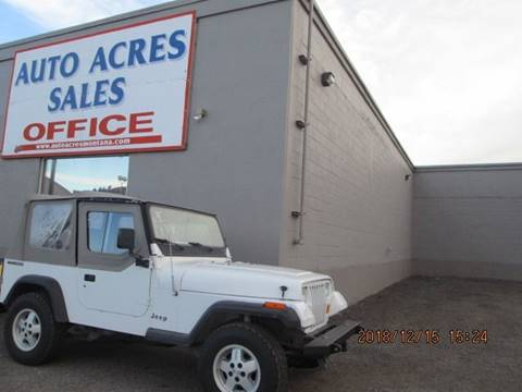 1990 Jeep Wrangler for sale in Billings, MT