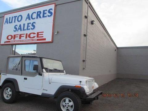 1990 Jeep Wrangler for sale in Billings, MT