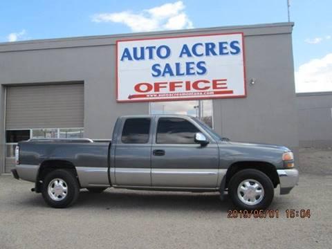 2002 GMC Sierra 1500 for sale in Billings, MT