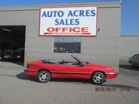 1990 Chrysler Le Baron for sale in Billings, MT
