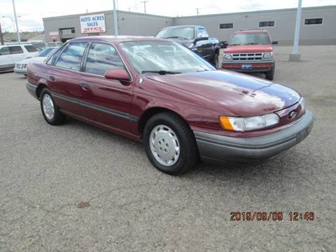 1992 Ford Taurus >> 1992 Ford Taurus For Sale In Billings Mt