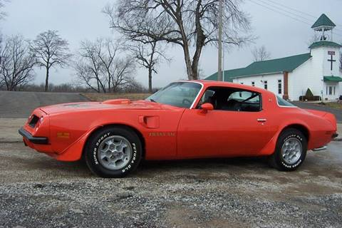 1975 Pontiac Firebird Trans Am for sale in West Line, MO