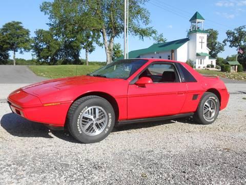 1985 Pontiac Fiero for sale in West Line, MO