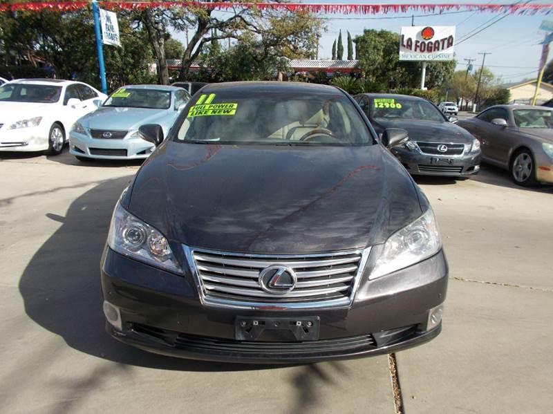 2011 Lexus ES 350 4dr Sedan - San Antonio TX