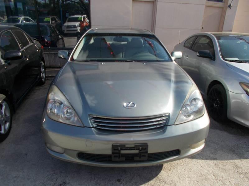2003 Lexus ES 300 4dr Sedan - San Antonio TX
