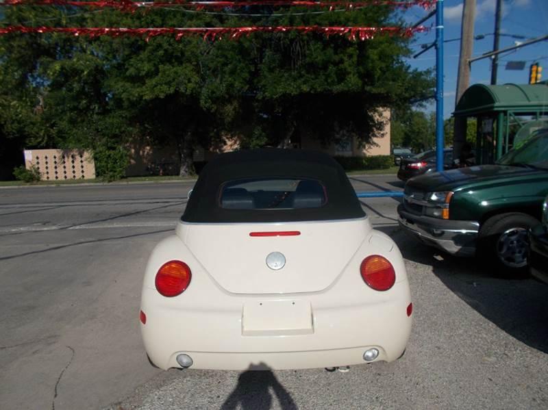 2003 Volkswagen New Beetle GLS 2dr Convertible - San Antonio TX