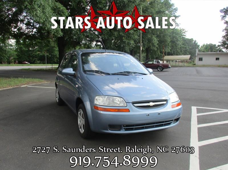 2008 Chevrolet Aveo Aveo5 Special Value 4dr Hatchback In Raleigh Nc