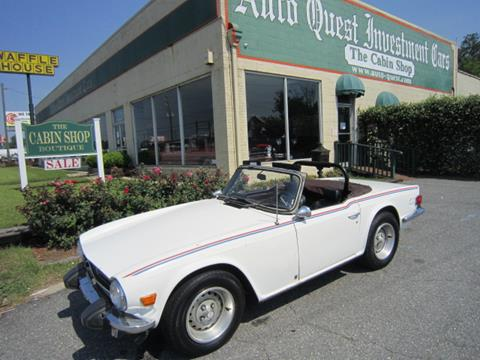 1975 Triumph TR6 for sale in Tifton, GA