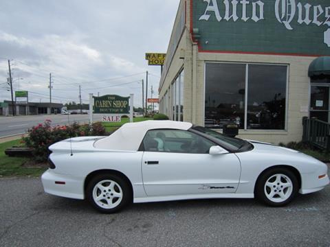 1994 Pontiac Firebird for sale in Tifton, GA