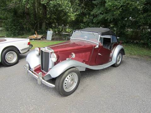 1952 MG TD for sale in Tifton, GA