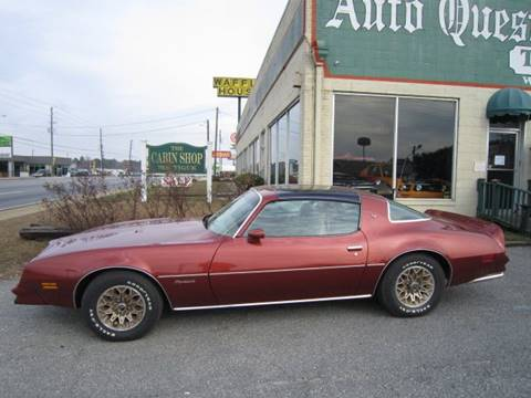 1978 Pontiac Firebird for sale in Tifton, GA