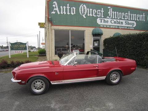 1968 Shelby GT500 for sale in Tifton, GA