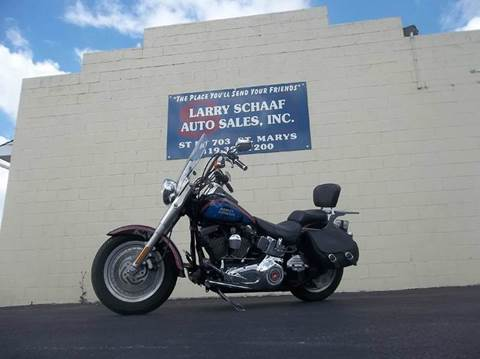 2006 Harley-Davidson fat boy for sale at Larry Schaaf Auto Sales in Saint Marys OH