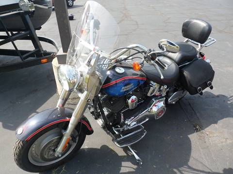 2006 Harley-Davidson FLST Fat Boy for sale at Larry Schaaf Auto Sales in Saint Marys OH