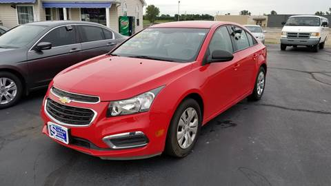2016 Chevrolet Cruze Limited for sale in Saint Marys, OH