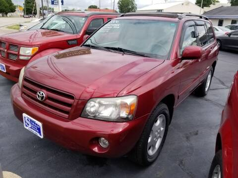 2006 Toyota Highlander for sale at Larry Schaaf Auto Sales in Saint Marys OH