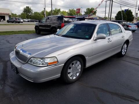 2003 Lincoln Town Car for sale at Larry Schaaf Auto Sales in Saint Marys OH