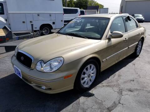 2003 Hyundai Sonata for sale at Larry Schaaf Auto Sales in Saint Marys OH