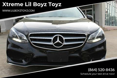 2015 Mercedes-Benz E-Class for sale at Xtreme Lil Boyz Toyz in Greenville SC