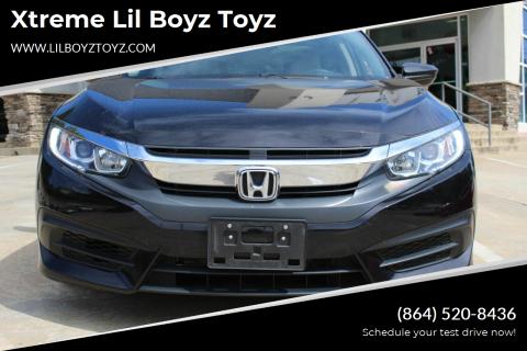 2018 Honda Civic for sale at Xtreme Lil Boyz Toyz in Greenville SC