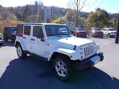 2013 Jeep Wrangler Unlimited for sale in Mahaffey, PA