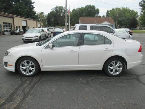 2012 Ford Fusion for sale in Mishawaka, IN