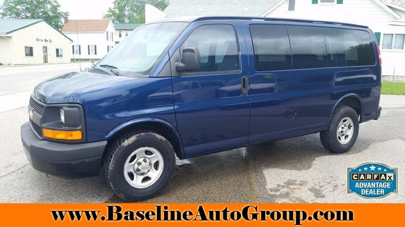 2004 Chevrolet Express Passenger 1500 3dr Passenger Van - Albion IN