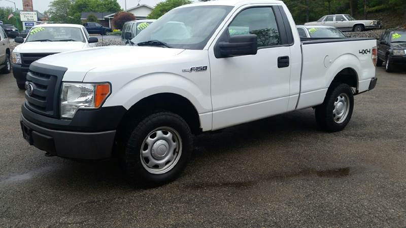 2010 Ford F-150 4x4 XL 2dr Regular Cab Styleside 6.5 ft. SB - Albion IN
